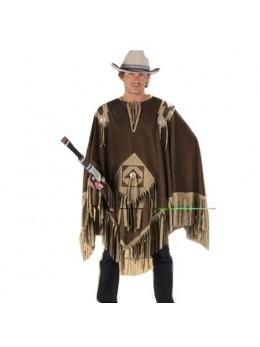 Déguisement Poncho cowboy luxe