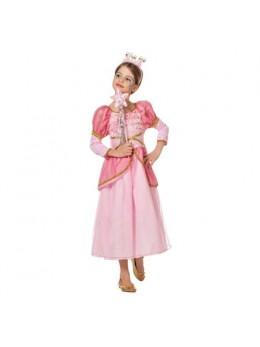 Déguisement princesse rose