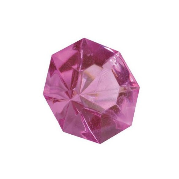 Diamant de déco fuchsia