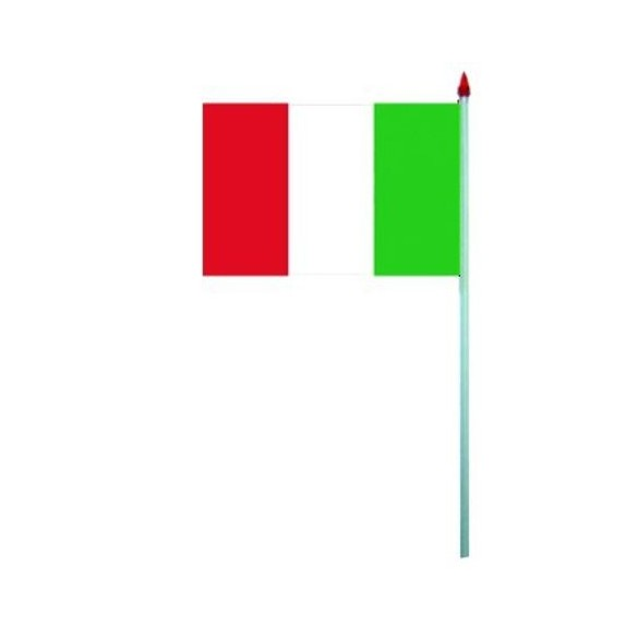 10 Drapeaux papier Italie