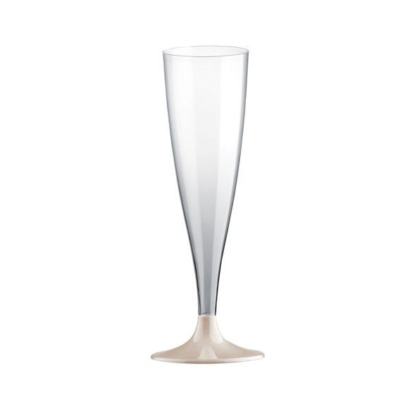 10 Easy flutes champagne pieds taupe