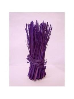 Fagot centre de table violet