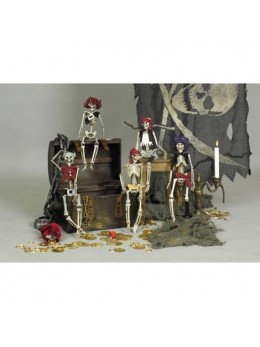 Figurine pirate squelette