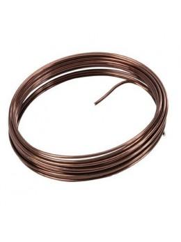 fil métal chocolat 12m