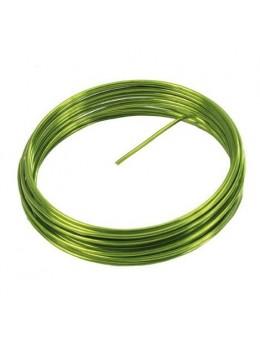 fil métal vert 12m