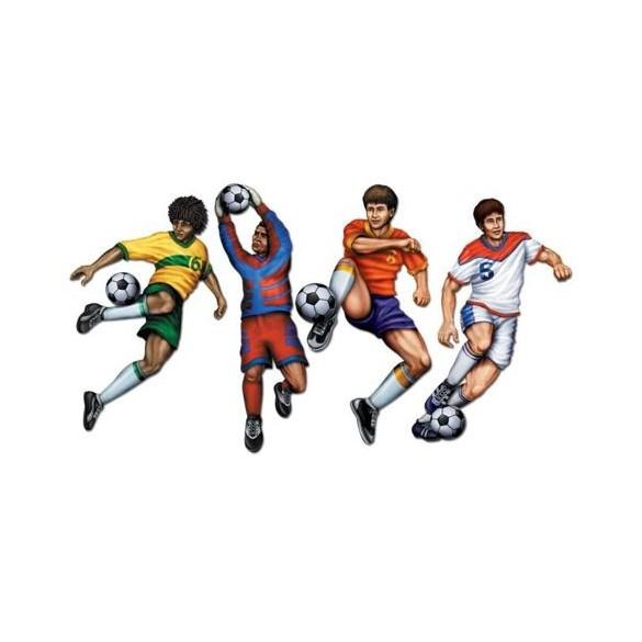 Footballeur carton