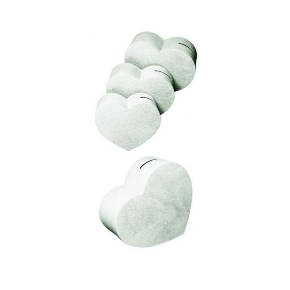 urne coeur blanche pour mariage cagnotte mariage. Black Bedroom Furniture Sets. Home Design Ideas