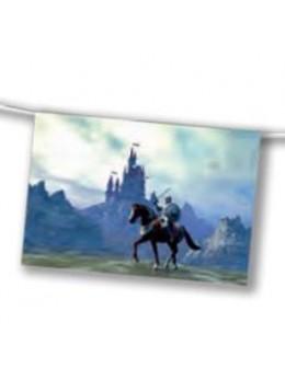 Guirlande médiévale chevalier