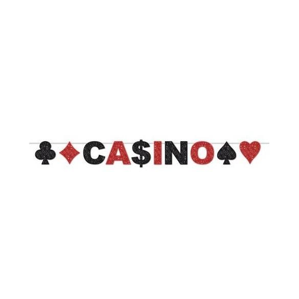 Guirlande Casino glitter