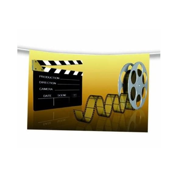 Guirlande cinéma film 4m