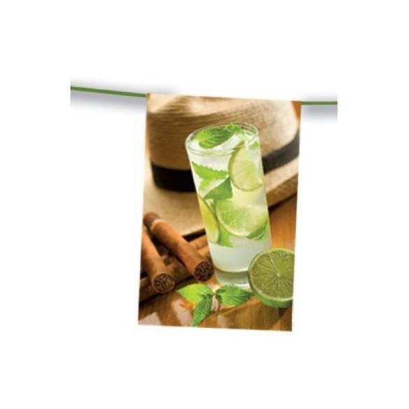 Guirlande cocktail mojito 4m