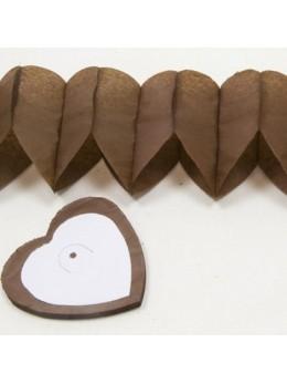 Guirlande coeur chocolat
