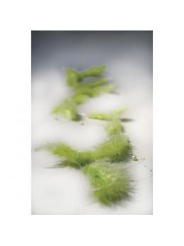 Guirlande de plumes vert lime