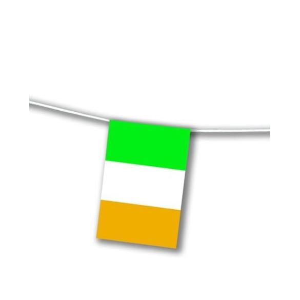 Guirlande drapeaux irlandais