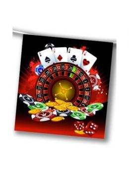 Guirlande jeux casino 4m
