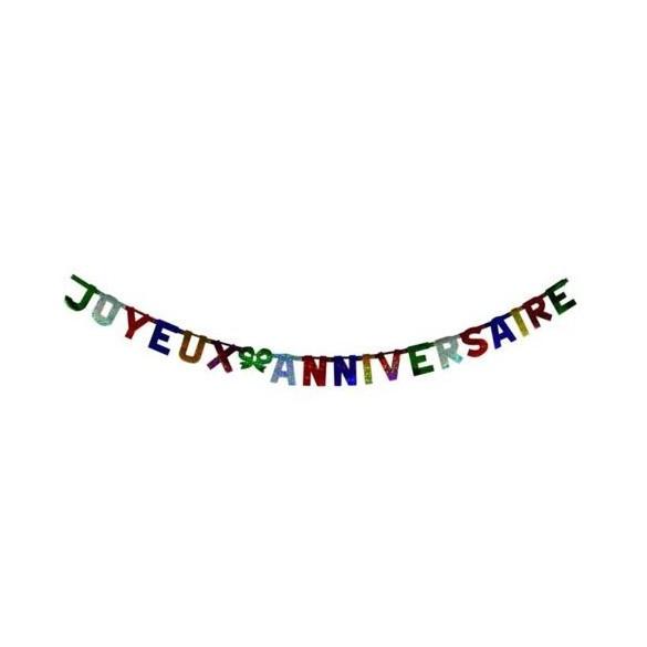 Guirlande Joyeux anniversaire PM