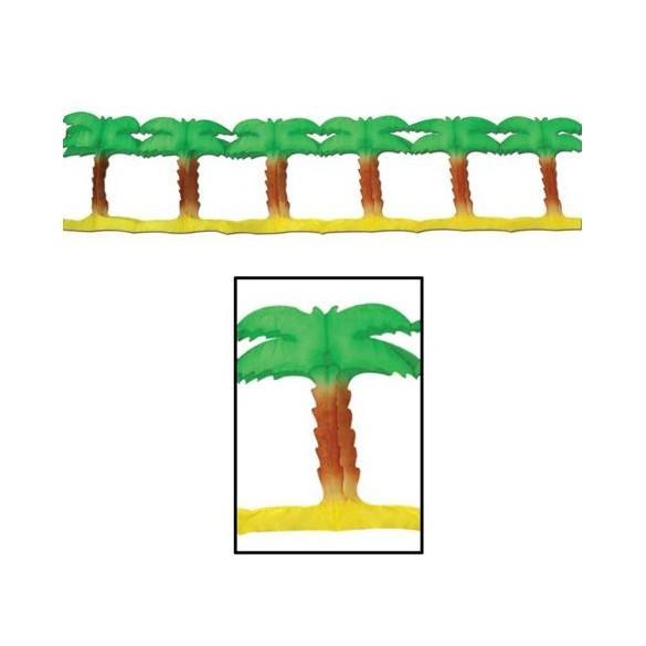 Guirlande palmiers