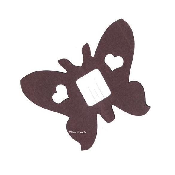 guirlande papillon chocolat