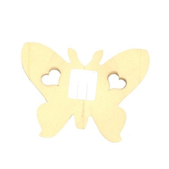 guirlande papillon crème