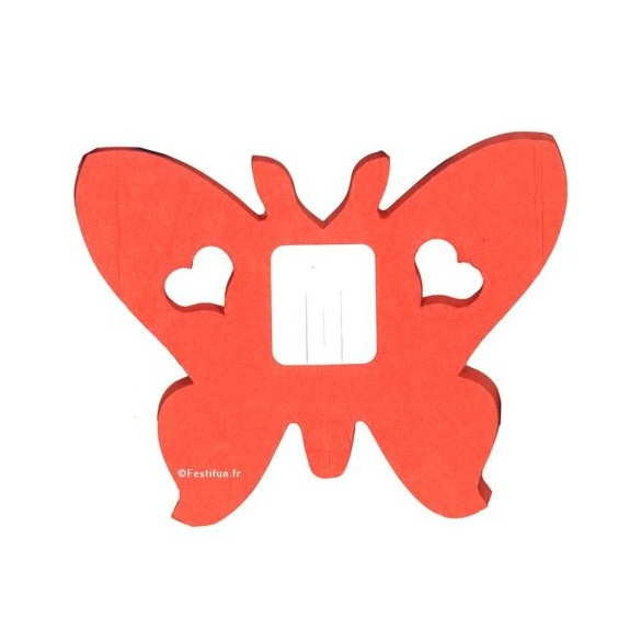 guirlande papillon orange