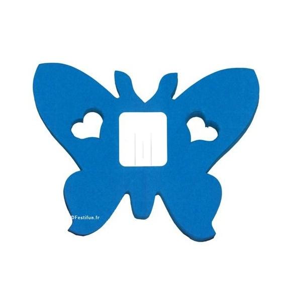 guirlande papillon turquoise