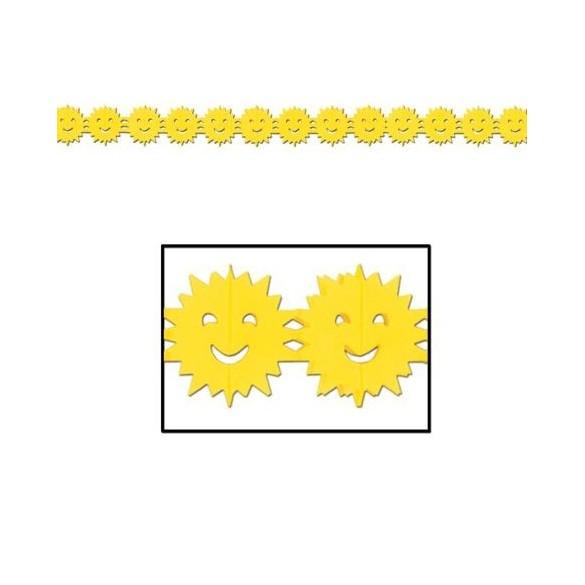 Guirlande soleil jaune