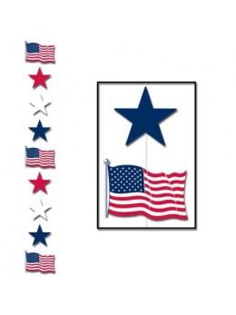 Guirlande USA verticale