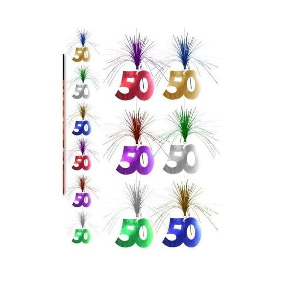 Guirlande verticale 50 ans