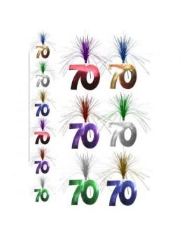 Guirlande verticale 70 ans