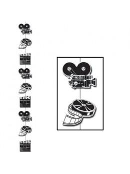 Guirlande verticale cinéma