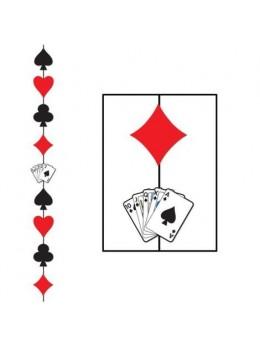 Guirlande verticale jeux de carte