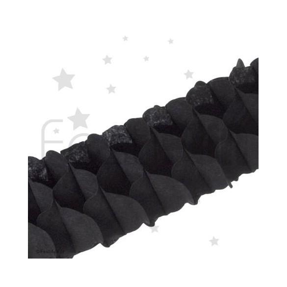 Lot 3 guirlandes mini noire