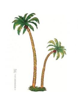 Lot de 2 palmiers carton