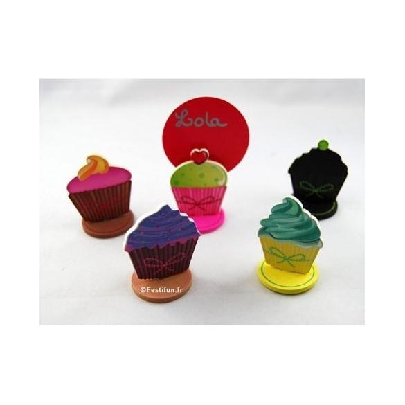 Lot de 6 marques Place cupcake