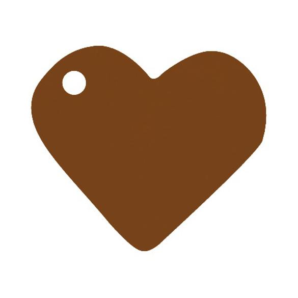 10 Marque place coeur chocolat