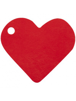 10 Marque place coeur rouge