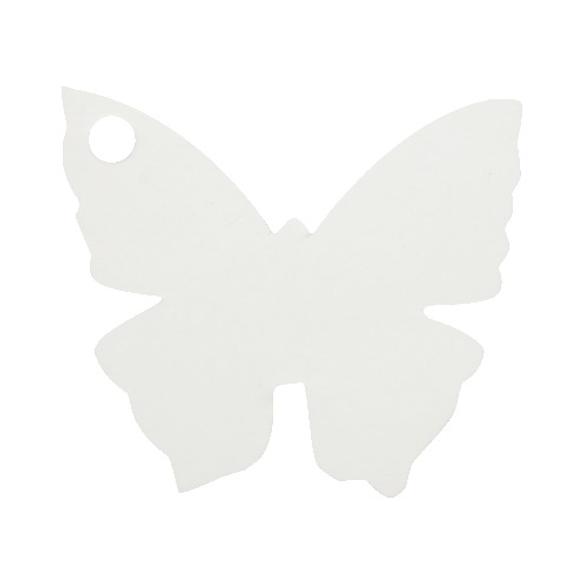 10 Marque place papillon blanc