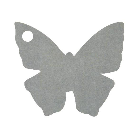 10 Marque place papillon gris