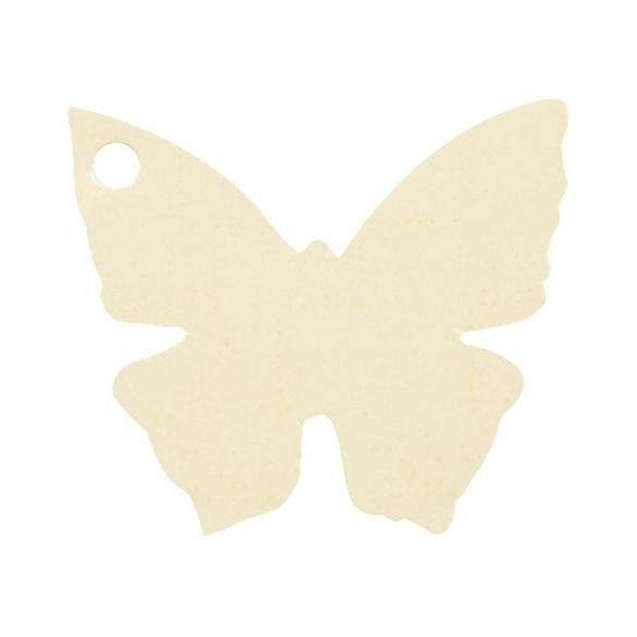 10 Marque place papillon ivoire