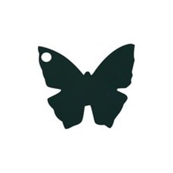 10 Marque place papillon noir