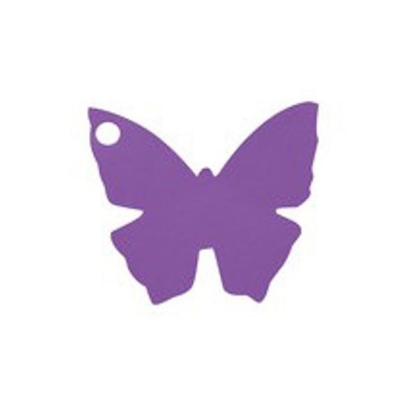 10 Marque place papillon prune