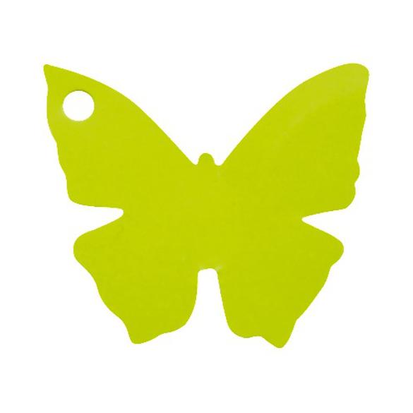 10 Marque place papillon vert anis