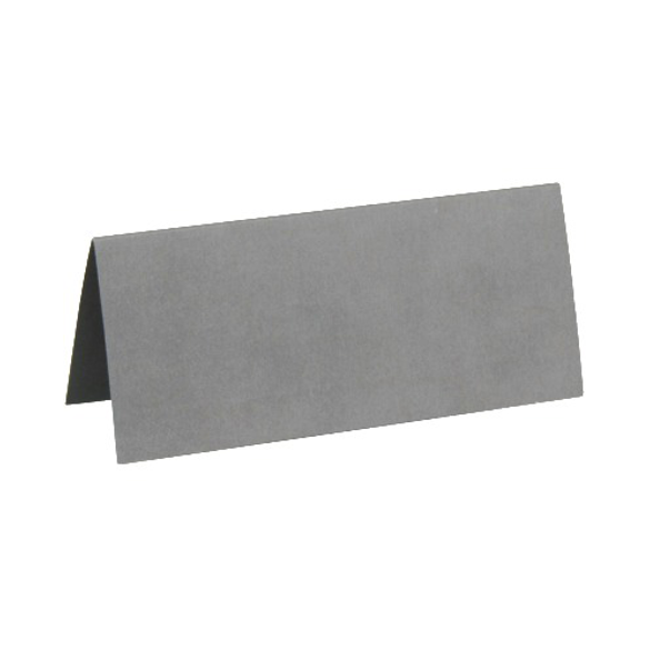 10 Marque place rectangle gris