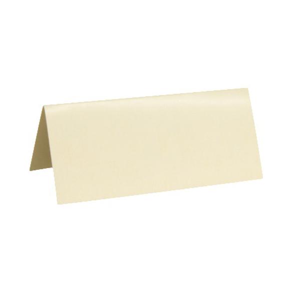 10 Marque place rectangle ivoire