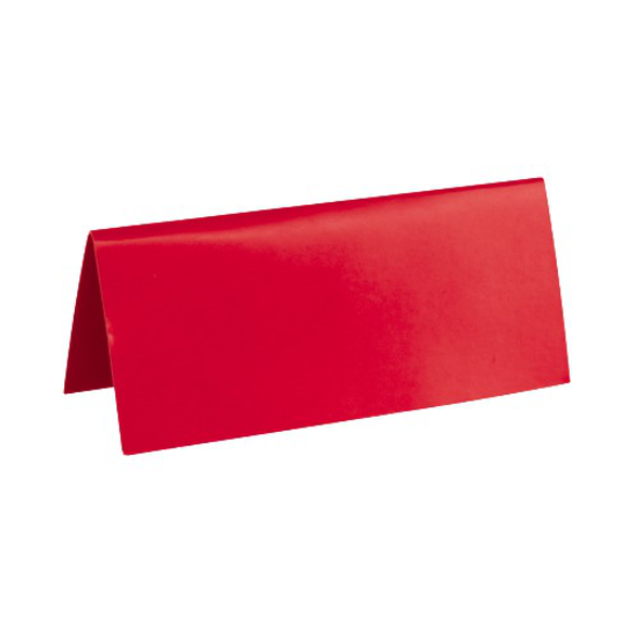 10 Marque place rectangle rouge