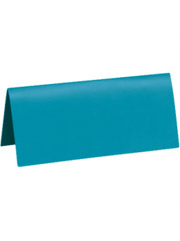 10 Marque place rectangle turquoise