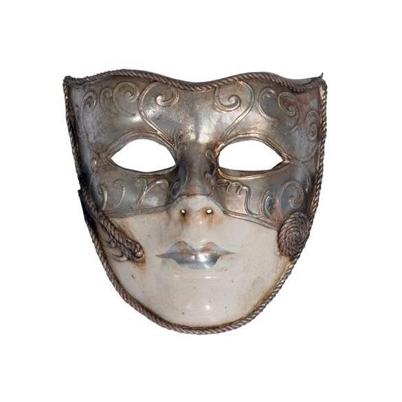 Masque Vénitien or argent