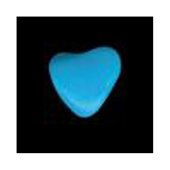 mini coeur turquoise 500g