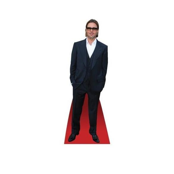 Mini Silhouette Brad Pitt