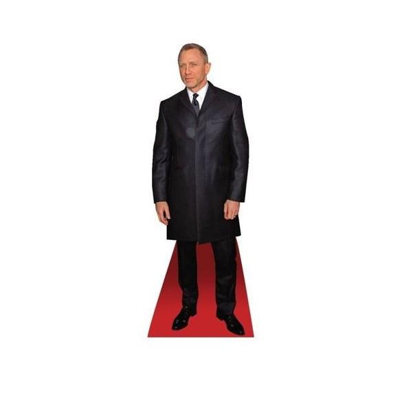 Centre de table Silhouette Daniel Craig